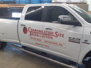 communicationsite truckdecals